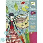 Djeco Fémfóliás színezés - Szentjánosbogarak - Fireflies