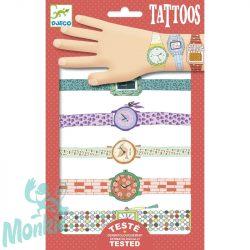 Djeco Tetováló matricák - Karórák - Wendy's watches