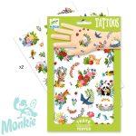 Djeco Tetováló matricák - Boldog tavasz - Happy spring