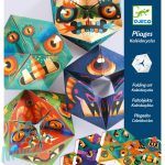 Djeco Flexmonsters - Papír tátika - Szörnyecskék - Hajtogatós játék
