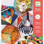 Djeco Flexanimals - Papír tátika- Hajtogatós kreatív szett - Állatmintás