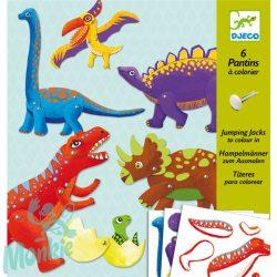Djeco Kapcsos állatfigura készítés - Dínók - Dinos