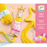 Wool - French knitting Princess - Hercegnők- Francia kötés-  Kreatív készlet