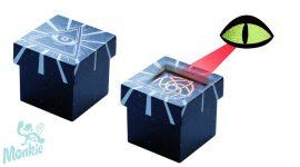 Djeco Oculus - Bűvésztrükk- Bűvész játék fekete doboz