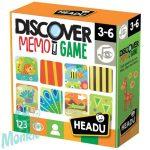Memória játék-Felfedezés  HEADU