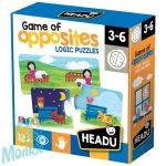 Párosító puzzle-Ellentétek HEADU