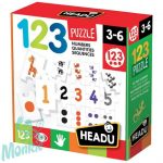 Fejlesztő puzzle-Számok és mennyiségek HEADU