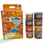 Carioca Baby ujjfesték 8x50 ml