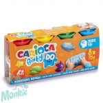 Carioca Baby DO 8 db-os gyurma szett, 8x75 g