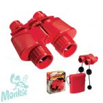 Navor - Piros gyermektávcső - Super 40 Red Binocular with Case