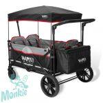 Wapiti Wagon Extra testvérkocsi, ikerkocsi 4 személyes fekete