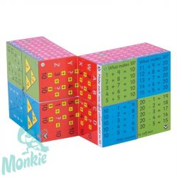 Zoobookoo varázs kocka - összeadás, kivonás