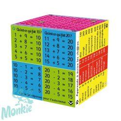 Zoobookoo varázs kocka -összeadás , kivonás francia